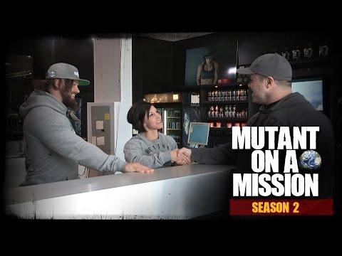 MUTANT ON A MISSION - Rob + Dana Linn Bailey's WARHOUSE GYM [Season 2]