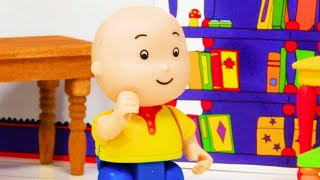 📚 Caillou and the School Books 📚 | Funny Animated Kids show | Caillou Stop Motion