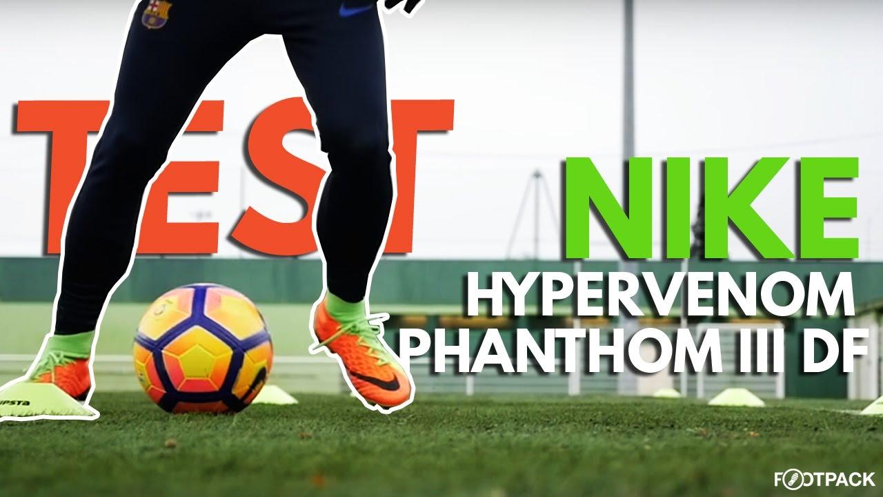 fa03835a7 TEST - Nike Hypervenom Phantom III DF de Cavani - YouTube