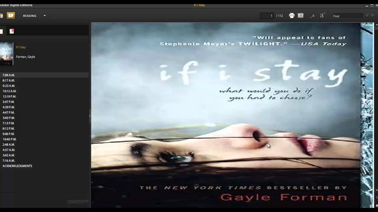 If I Stay Ebook