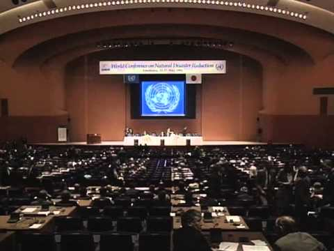 World Conference on Natural Disaster Reduction, Yokohama (1994)