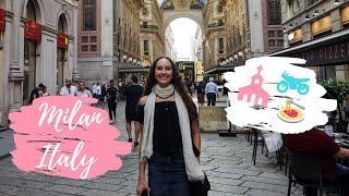 Fashion week in Milan travel vlog - Chow Bella Travels