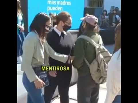 El reclamo de un jubilado discapacitado a la intendenta de Moreno en un acto