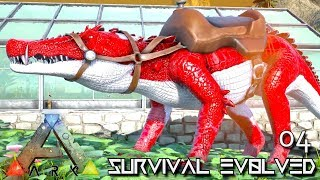 ARK: SURVIVAL EVOLVED: ALPHA KAPRO & ALPHA PTERA TAMING E04 !!! ( EXTINCTION CORE MODDED )