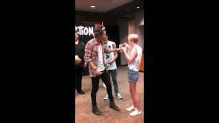 Kayla Adams One Direction meet and greet Take Me Home Tour 2013