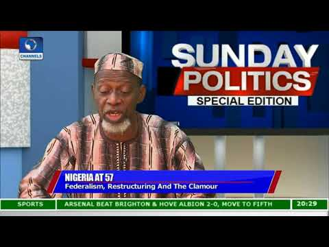 Restructuring: Buhari Is Already Negotiating With Nigerians - Ofeimun |Politics Today|