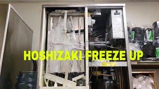HOSHIZAKI ICE MACHINE FREEZE UP