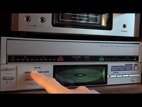 RetroTech: Play vinyl records with CD functionality - Sharp RP-117 Mp3