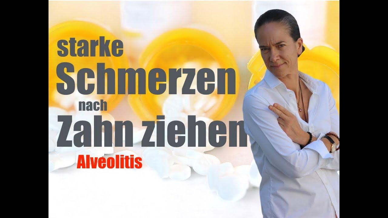 Gezogen schmerzen backenzahn Kieferknochenentzündung nach
