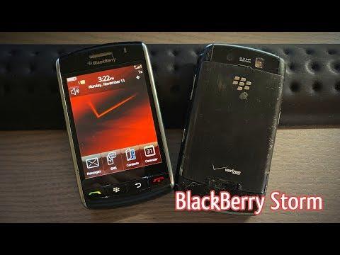 BlackBerry Storm - Such A Weird Phone