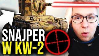 SNAJPER W KW-2 - World of Tanks