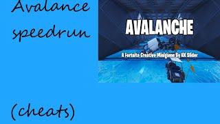Fortnite Avalanche Challenge Easy Cheat And Speedrun! KKSlider