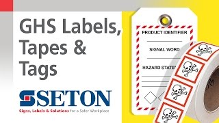How to Identify GHS Classes and Categories with GHS Labels & Tags | Seton Video