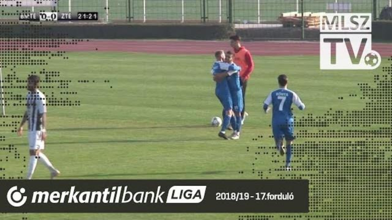 Budafoki MTE - ZTE FC | 2-3 (0-2) | Merkantil Bank Liga NB II.| 17. forduló |
