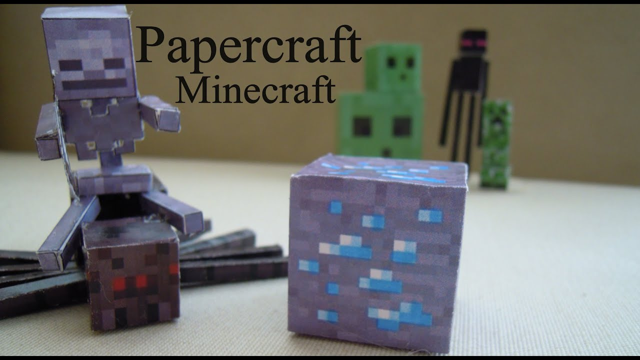 Minecraft Table Furnace Crafting And Papercraft
