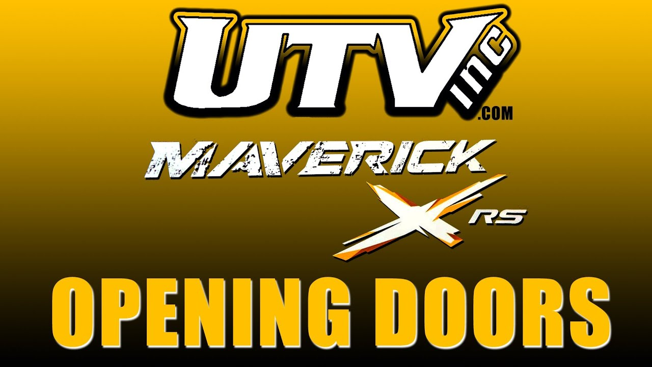 Utv Inc Can Am Maverick Opening Doors Youtube