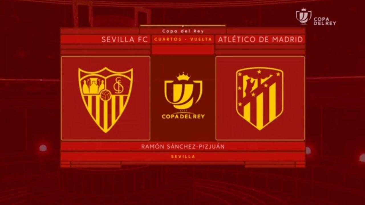Sevilla - Atlético de Madrid 3-1 Resumen Highlights vuelta cuartos ...