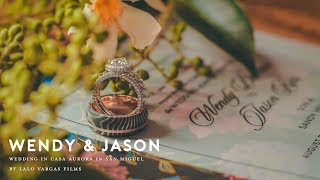 Wendy & Jason - Wedding at Casa Aurora in San Miguel de Allende