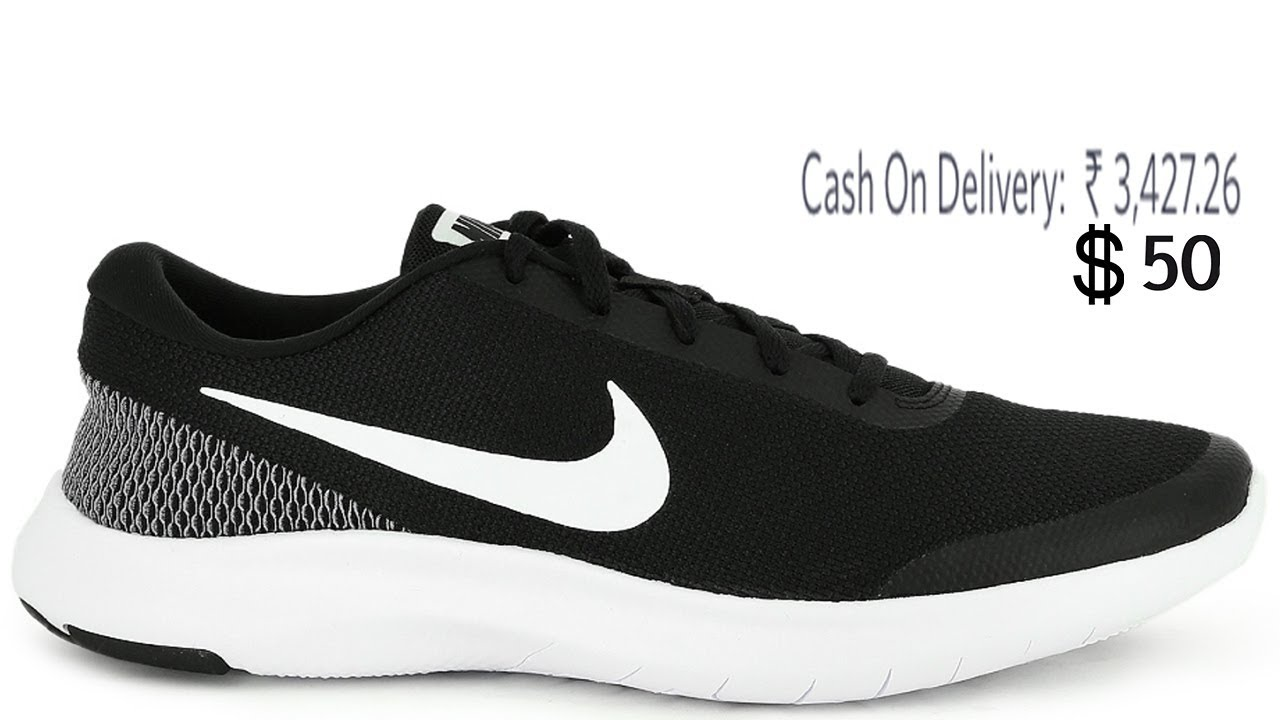 7b4a8d0a3de9 Nike Men Black FLEX EXPERIENCE RN 7 Running Shoes