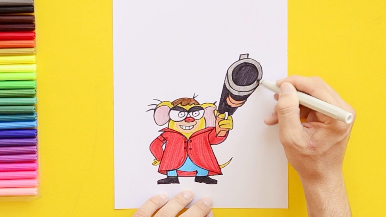 How To Draw Chhotu Charly Pakdam Pakdai Characters By Art For All