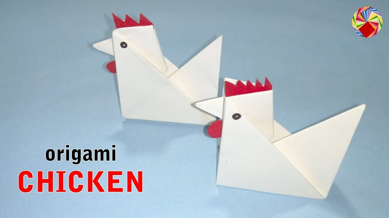 3D Origami - Chicken Set | Creatif, Papier | 720x1280