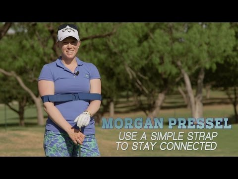 Morgan Pressel Use A Simple Strap To Stay Connected Golf
