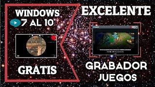 ✔Excelente Grabador de Juegos SIN LAG Para PC Full HD