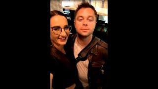 Виталий Гогунский в ресторане Бузовой потерял дар речи))