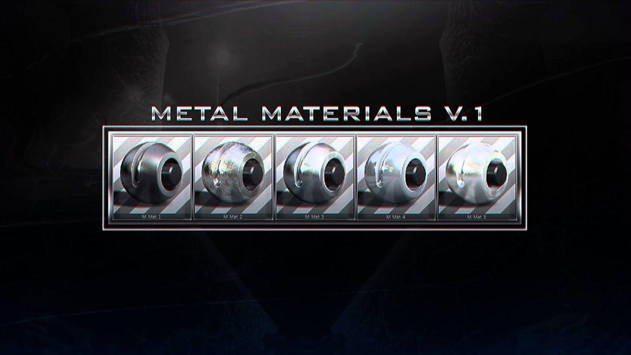 cinema 4d metal material pack free download
