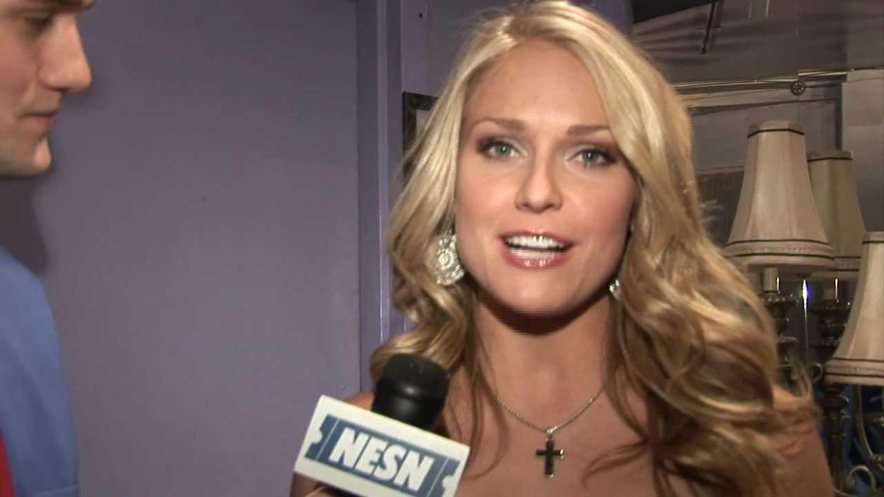 Heidi Watney Interview for NESN, Jimmy Fund - YouTube