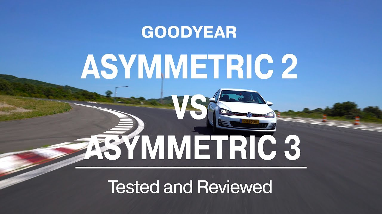 goodyear eagle f1 asymmetric 3 vs asymmetric 2 tested. Black Bedroom Furniture Sets. Home Design Ideas