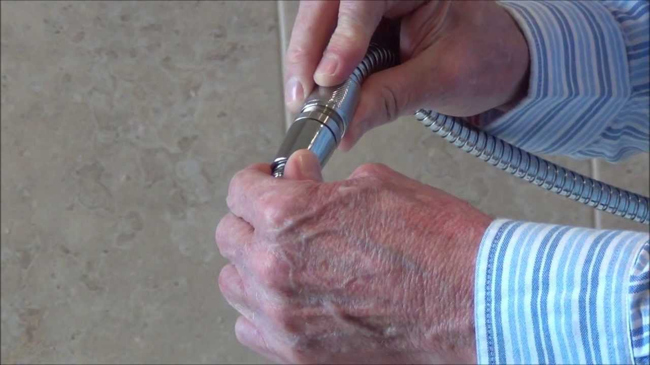 How To Extend A Shower Hose by Byretech - YouTube