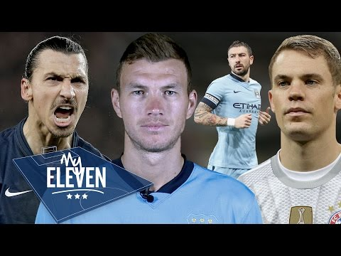 Edin Dzeko picks his greatest ever team | Neuer, Ibrahimovic, Xavi & more!