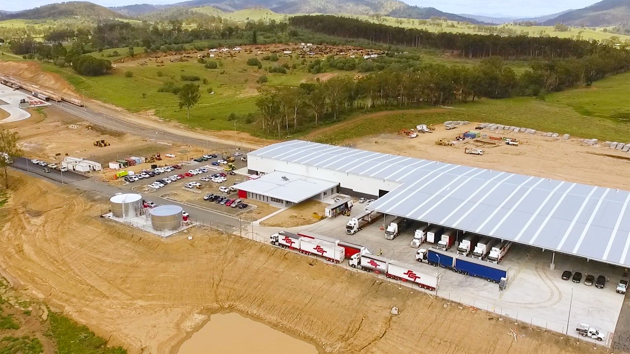 The brand new Bromelton terminal received its very first