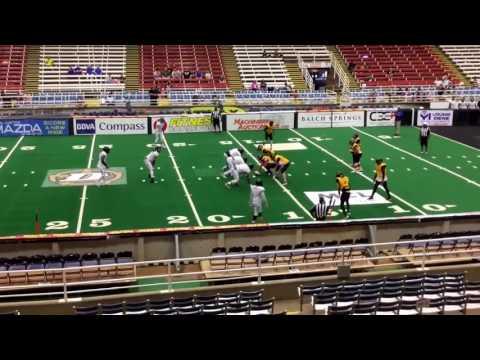 MIFL  Mabank Falcons vs North Texas Savages 1st Half 2017