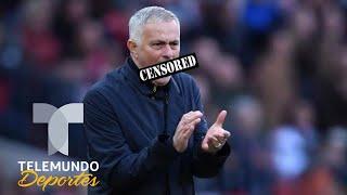 """Mourinho podría ser suspendido por """"mal hablado""""   Premier League   Telemundo Deportes"""