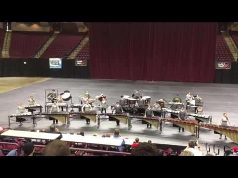 Tomball High School Band 2016 - Winter Percussion - Chopsticks