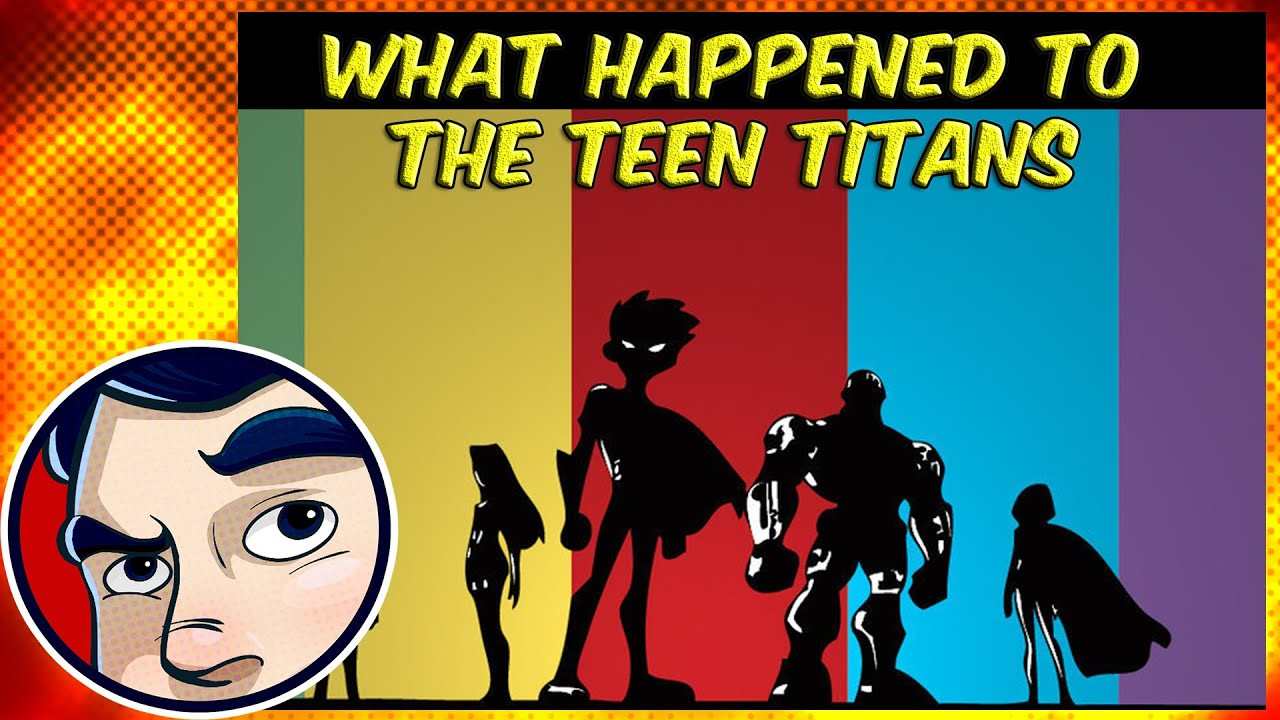 What Happened To The Teen Titans Red X Is Who Robins -5919