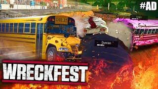 BUS SANDWICH | Wreckfest