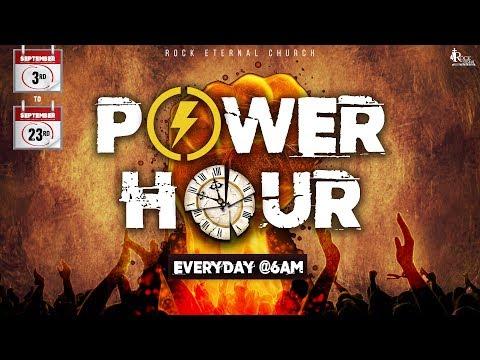 ROCK ETERNAL CHURCH | POWER HOUR | 11.09.2018 | Day 9 | 06:00 - 7:00 AM | Ps. Reenukumar