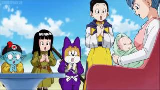 DragonBallSuper: Bulla is born and Vegeta gets angry when she cries