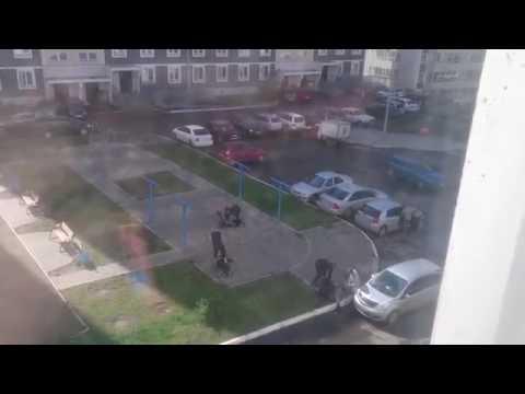 Прохожие помогли полиции задержать хулиганов / Hooligans Detention