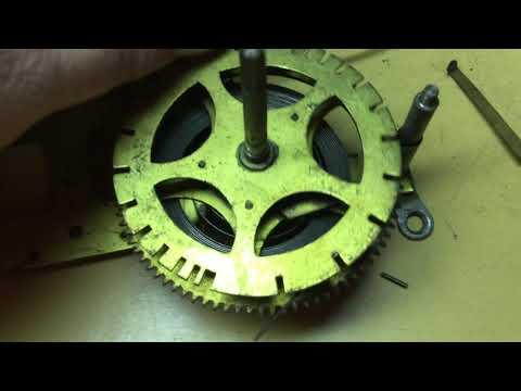 Gilbert Long-Drop Octagon Clock Rebuild Part 3