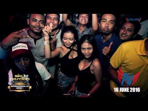 PUTRI UNA - Sky Garden Bali Int. DJ Series - June 16th, 2016