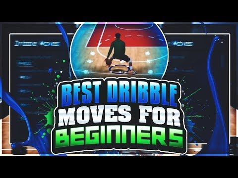 BEST DRIBBLE MOVES FOR BEGINNERS ON NBA 2K18 | HOW TO DRIBBLE 3X FASTER! NBA 2K18