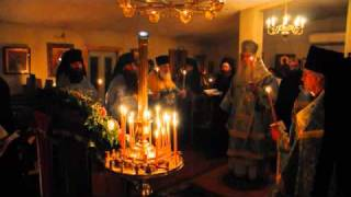 Kursk Icon visits Holy Cross Monastery - All-Night Vigil