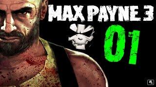 Max Payne 3 - Прохождение 01 - Страдания начинаются