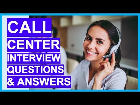 CALL CENTER Interview Questions & Answers! How to PASS a ...