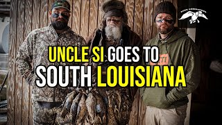 Uncle Si Goes To South Louisiana | Catch, Clean, Cook