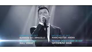 Rick Astley at Motorpoint Arena Cardiff 2 November 2018
